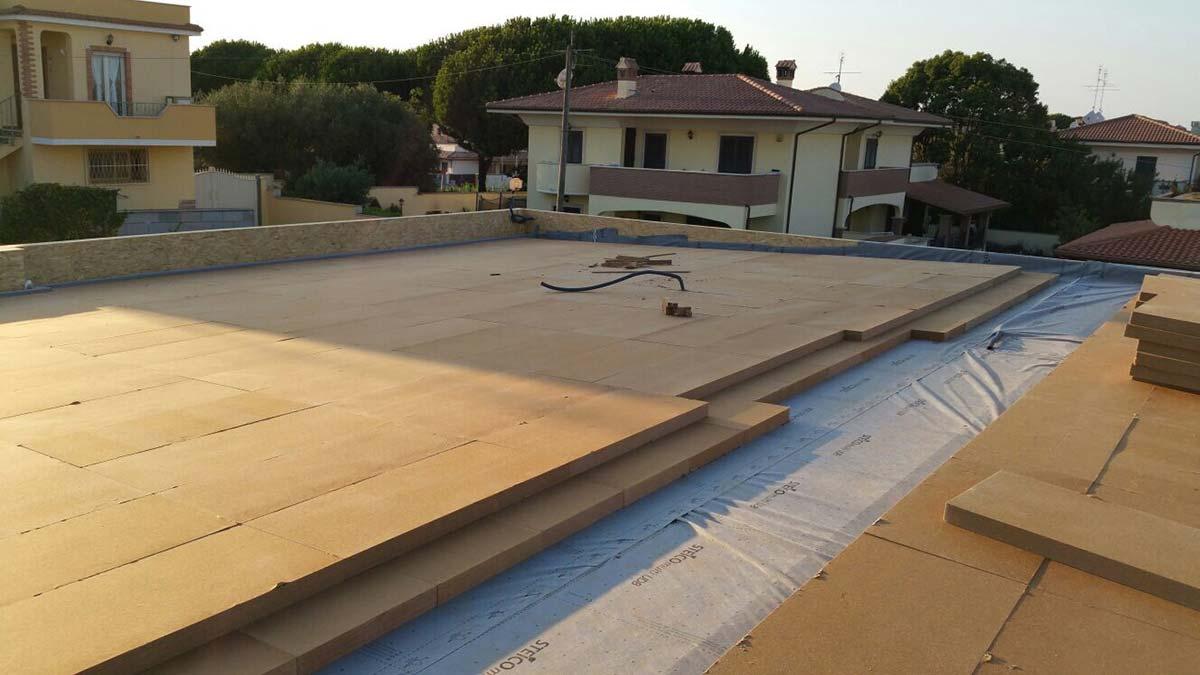 Fibra di legno galleria fotografica for Piani casa linea tetto singolo