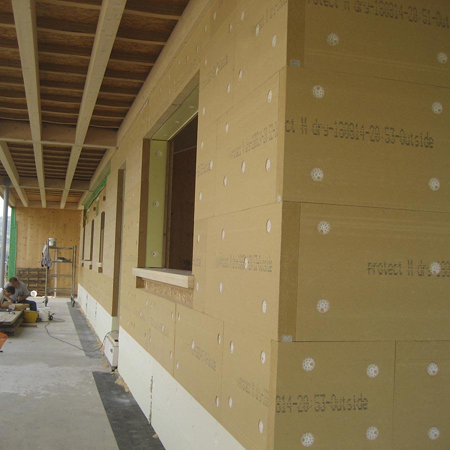 Pannelli Fibra Di Legno fibra di legno fibertherm protect