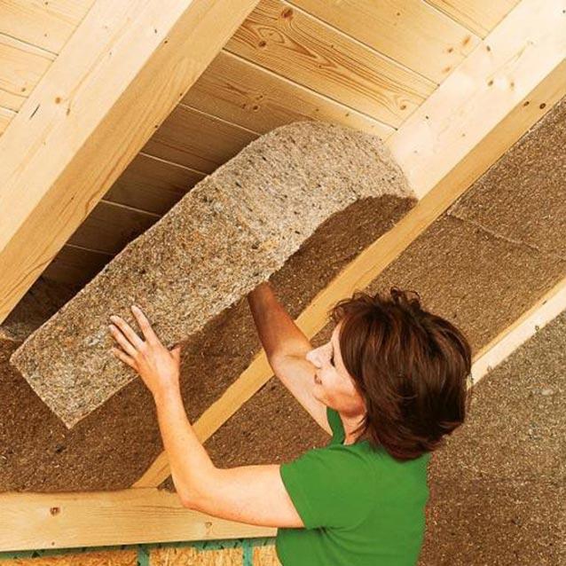 Fibra di legno fibertherm flex 60 - Pannelli isolanti per sottotetto ...