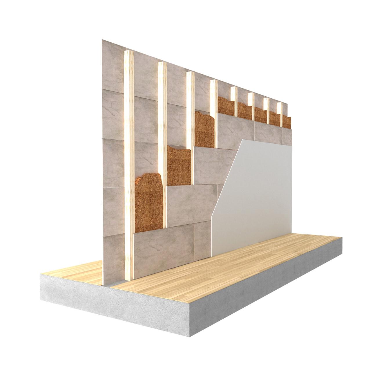 Pannelli Fibra Di Legno fibra di legno per cappotto termico interno