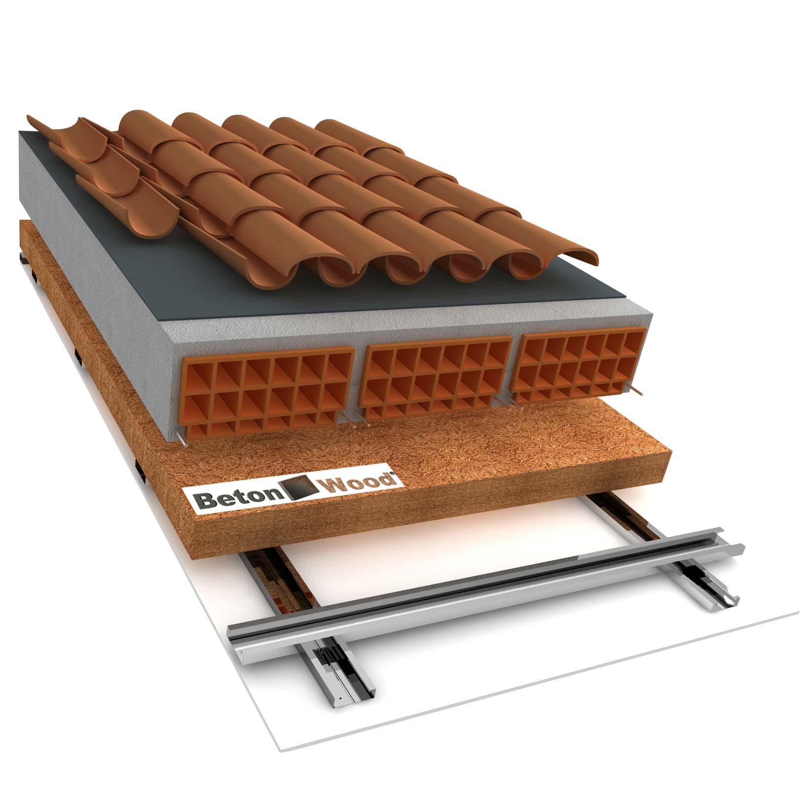 Fibra di legno per isolamento soffitti for Soffitto della cattedrale di legno